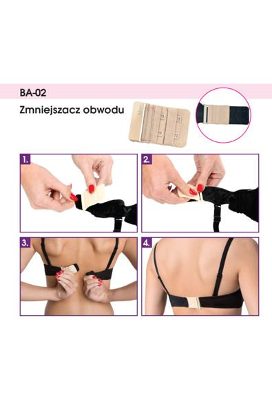Bra reducer BA-02 white