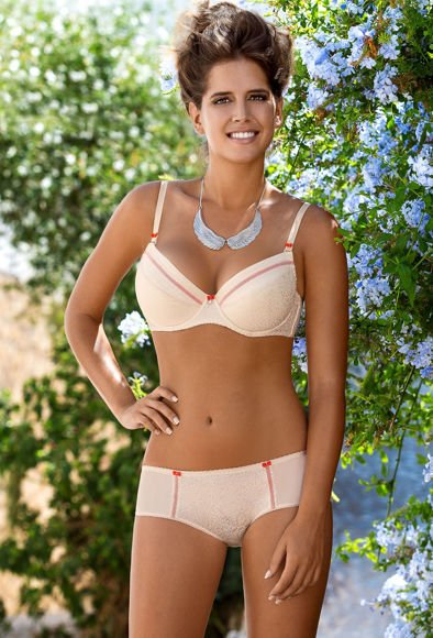 Push-up bra light beige Nawarra M-2018/11