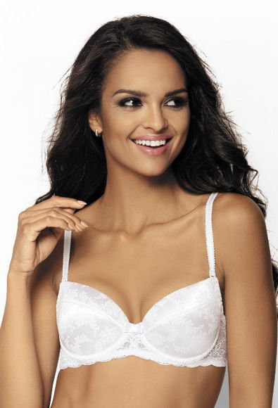 Push-up bra white Etinet M-075/11
