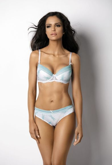Push-up white-mint Avril M-2407/11