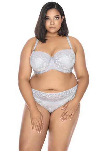 Semi-soft bra light grey Jackie M-3039/21