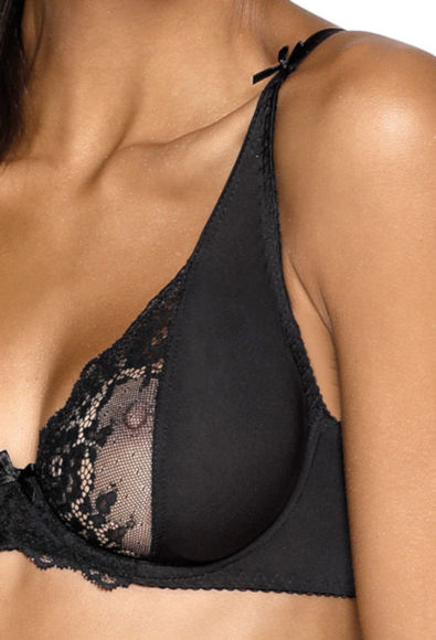 Soft bra black Heidi M-0135/2