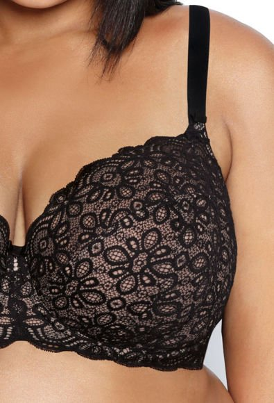 Soft bra black Jackie M-0168/2
