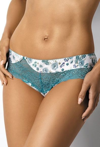 Thongs milk-turquoise Shelly S-2436/4