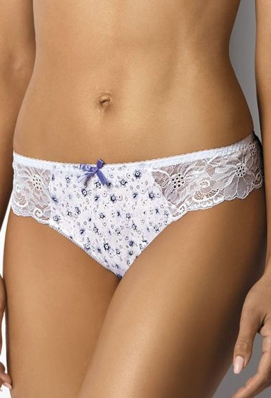 Thongs white-violet Marcelle S-2430/4