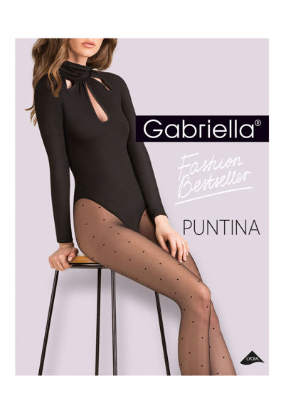 Tights nero Puntina 20 den